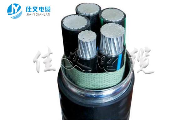 塑料绝缘铝合金芯电力电缆