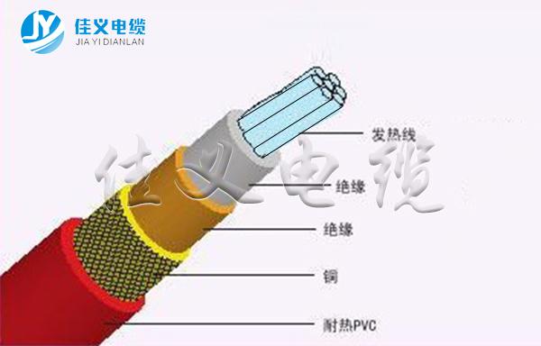 JRTHGY矿物质绝缘电加热东北防火电缆厂家